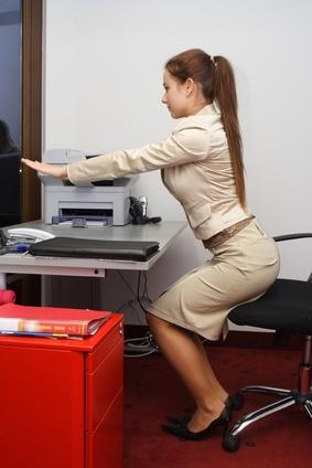 Mouvements au bureau