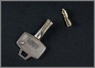 j'ai cassé ma clé