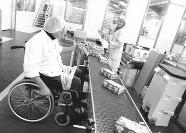 insertion des personnes handicapées