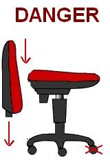 détérioration mobilier de bureau