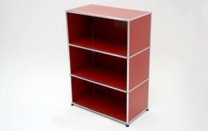 mobilier USM Haller rouge