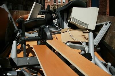 gestion des déchets mobilier bureau