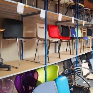 chaises de bureau d'occasion recyclage