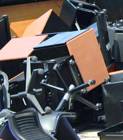 diagnostique important pour le recyclage de mobilier de bureau